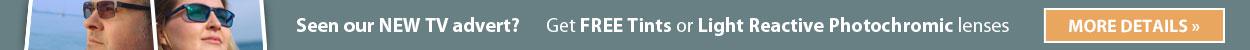 Free Tints & Photochromic Lenses