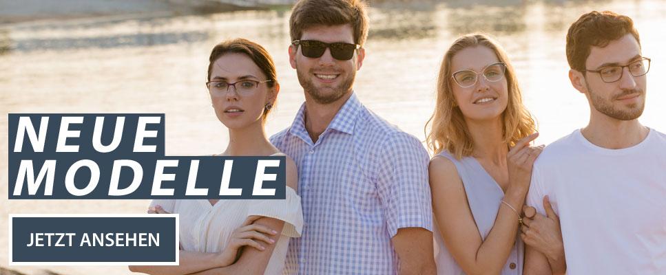 Neue Modelle Brillenmode für Sommer 2019
