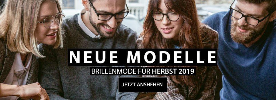 Neue Modelle Brillenmode für Herbst 2019
