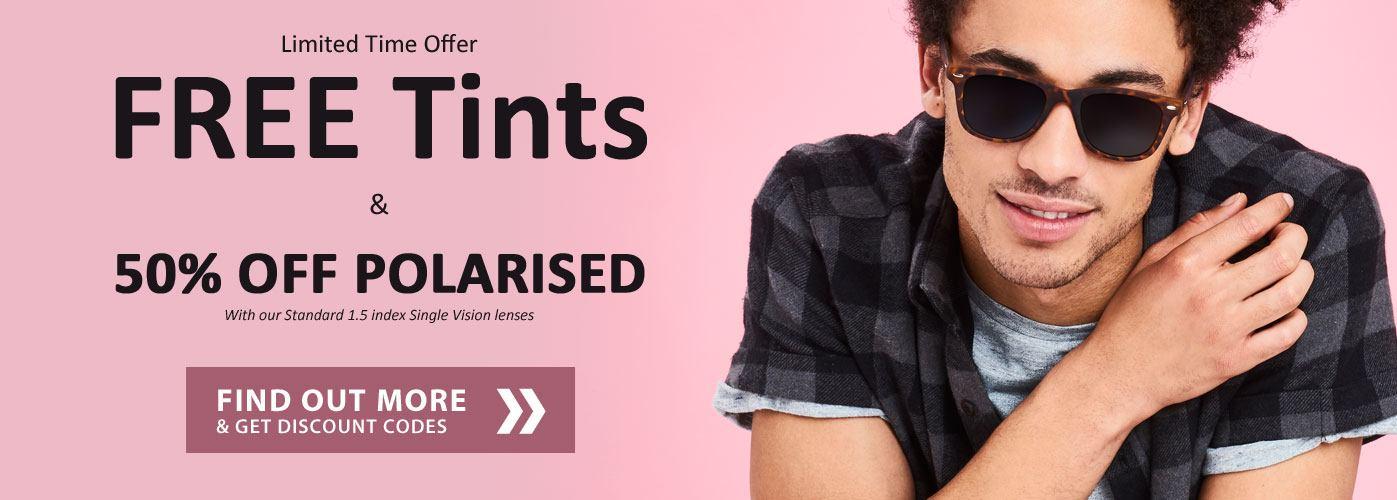 FREE Tints / Polarised