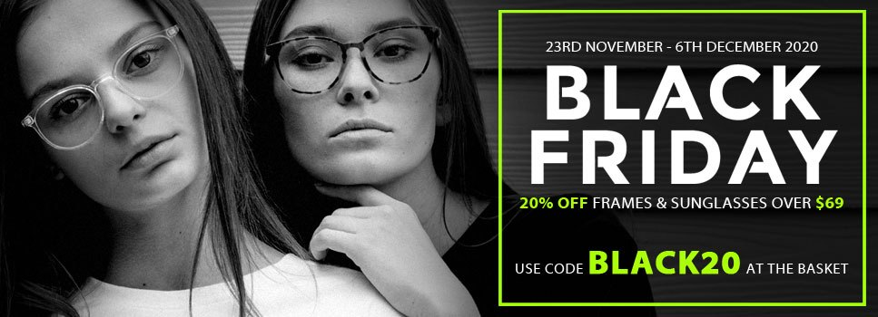 Black Friday - 20% Off Frames over $69