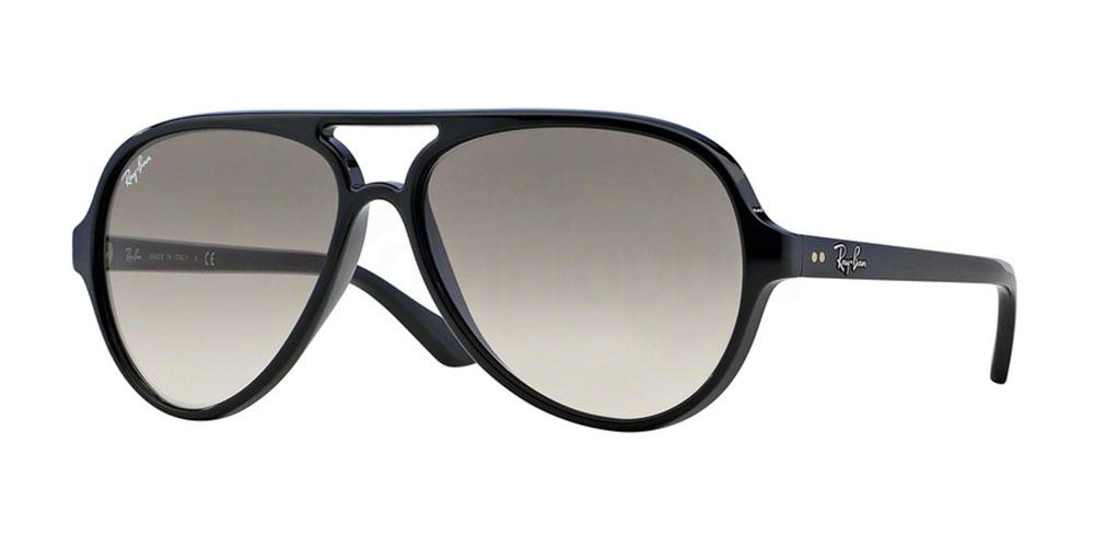 601/32 RB4125 Cats 5000 (1/4) Sunglasses, Ray-Ban