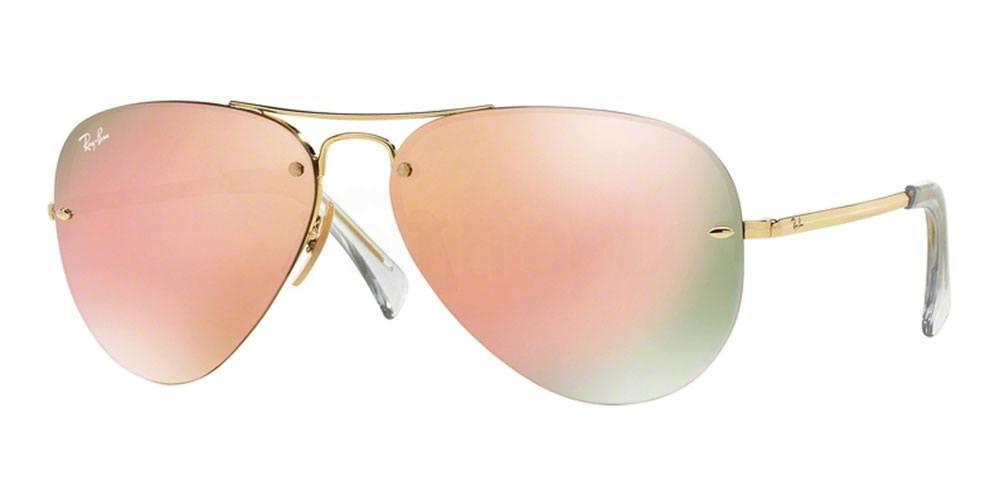 001/2Y RB3449 (2/2) Sunglasses, Ray-Ban