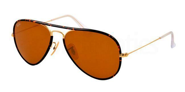 001 RB3025JM AVIATOR FULL COLOR Sunglasses, Ray-Ban
