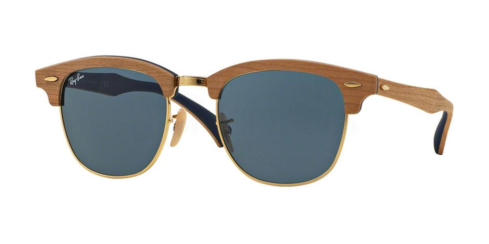 1180R5 RB3016M Clubmaster (M) - Wood , Ray-Ban