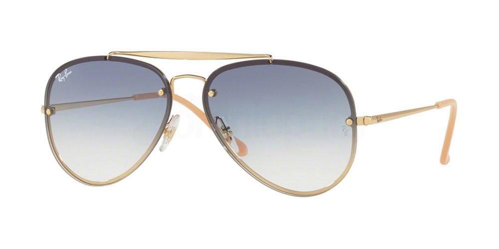 001/19 RB3584N BLAZE AVIATOR Sunglasses, Ray-Ban