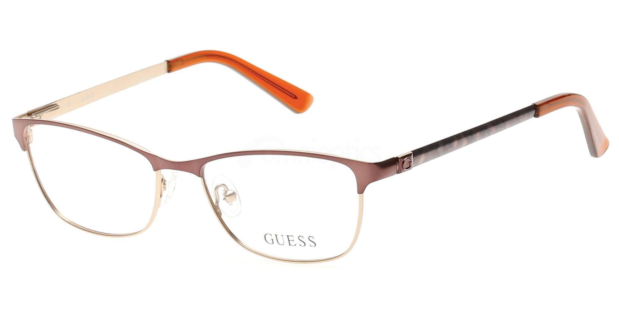 046 GU2512 Glasses, Guess