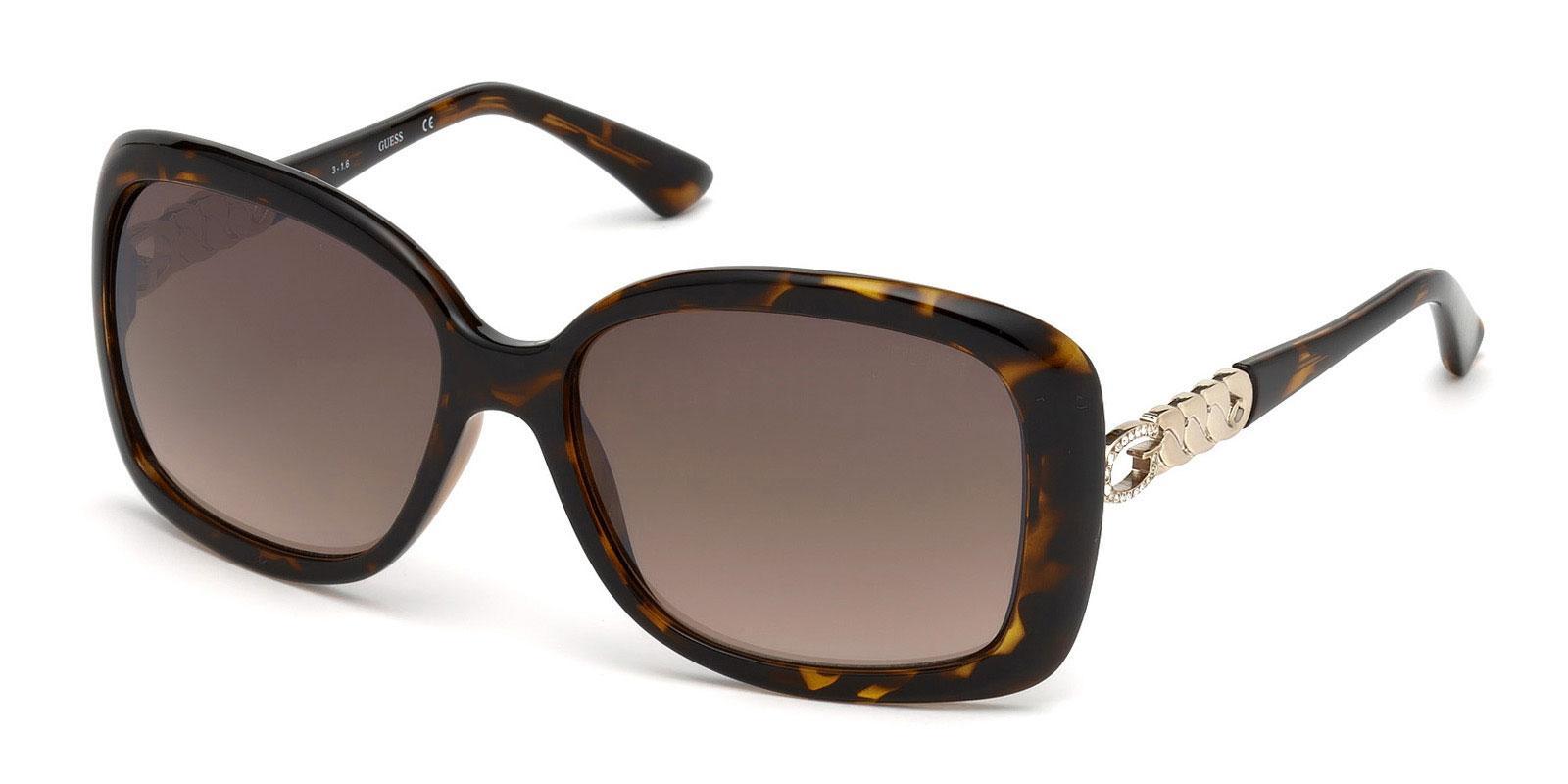 52F GU7480-S Sunglasses, Guess