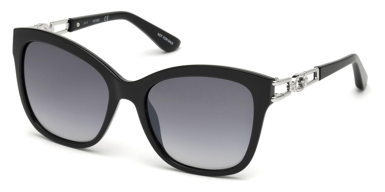 52F GU7536-S Sunglasses, Guess
