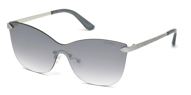 10W GU7549 Sunglasses, Guess