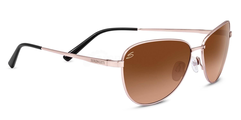 8414 Cosmopolitan GLORIA Sunglasses, Serengeti
