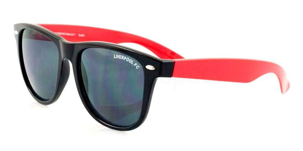 Liverpool Black and Red Liverpool FC - SLI012 Wayfarer , Fan Frames