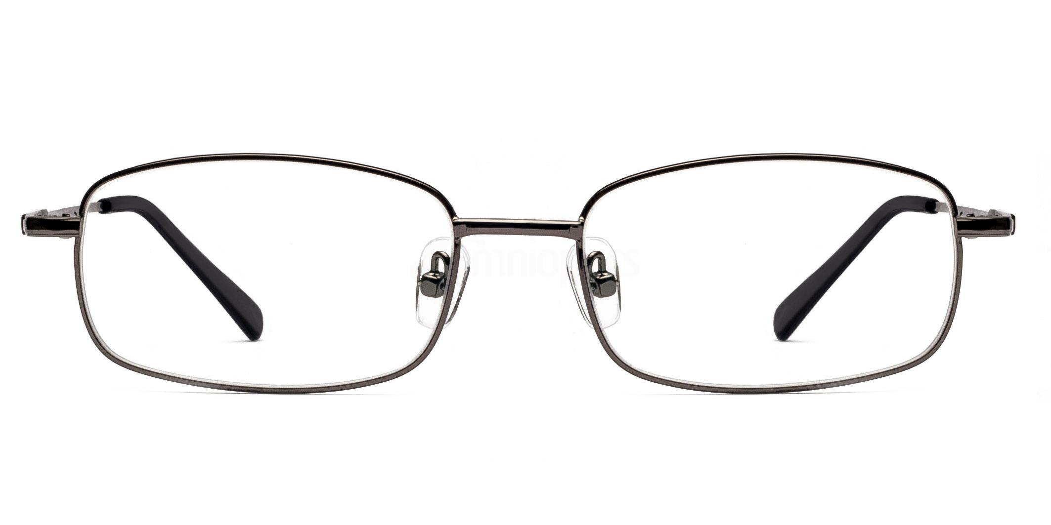 Gunmetal 8052 - Gunmetal Glasses, Savannah