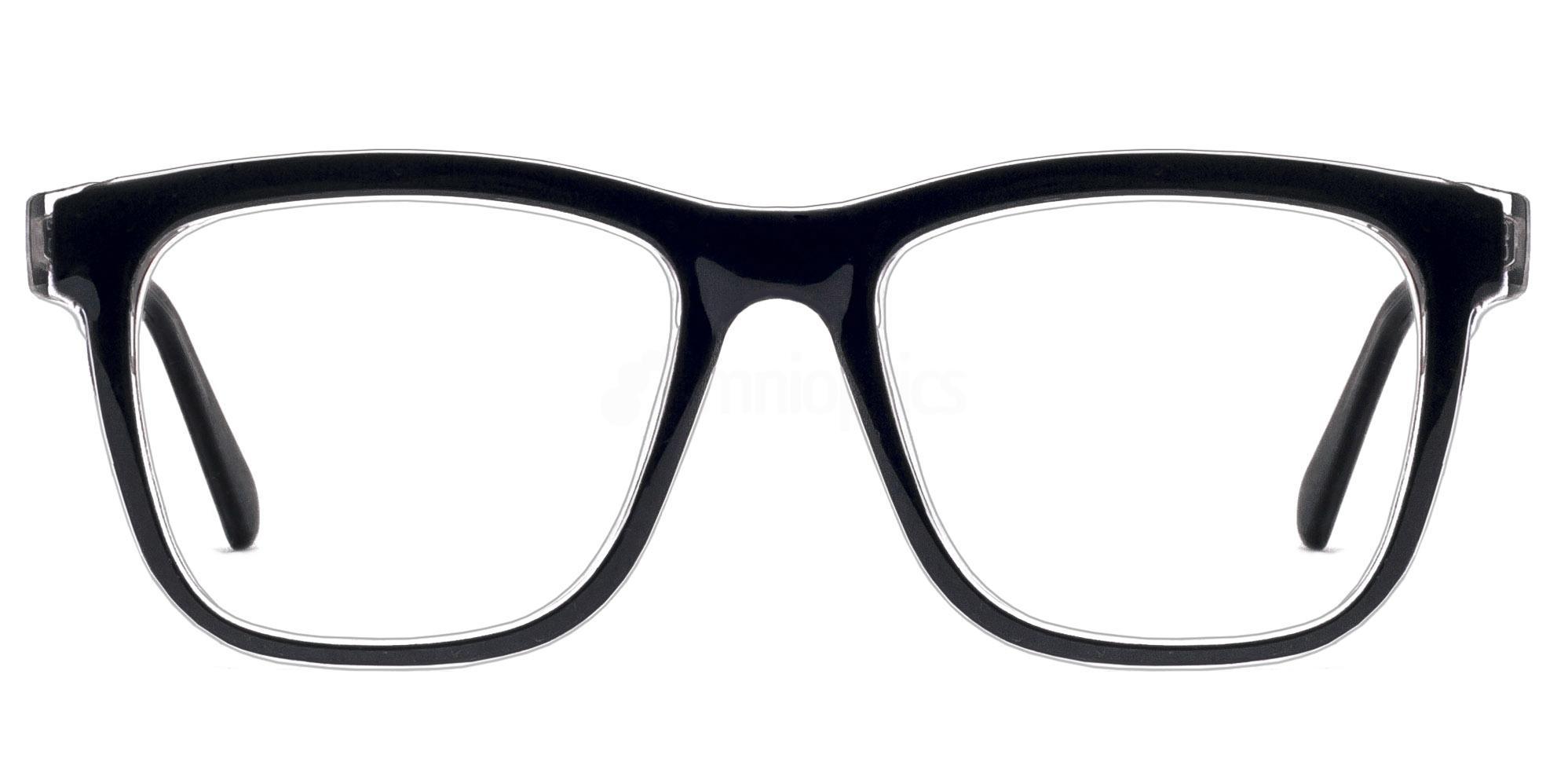 C44 2444 - Black and Purple Glasses, Savannah