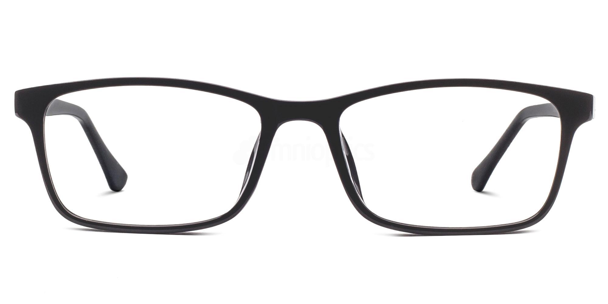 Black 6328 Glasses, Savannah