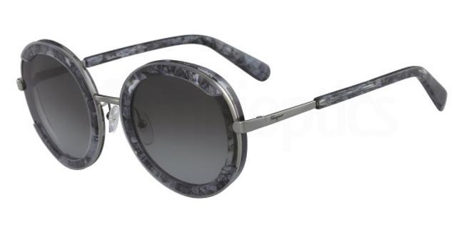042 SF164S Sunglasses, Salvatore Ferragamo