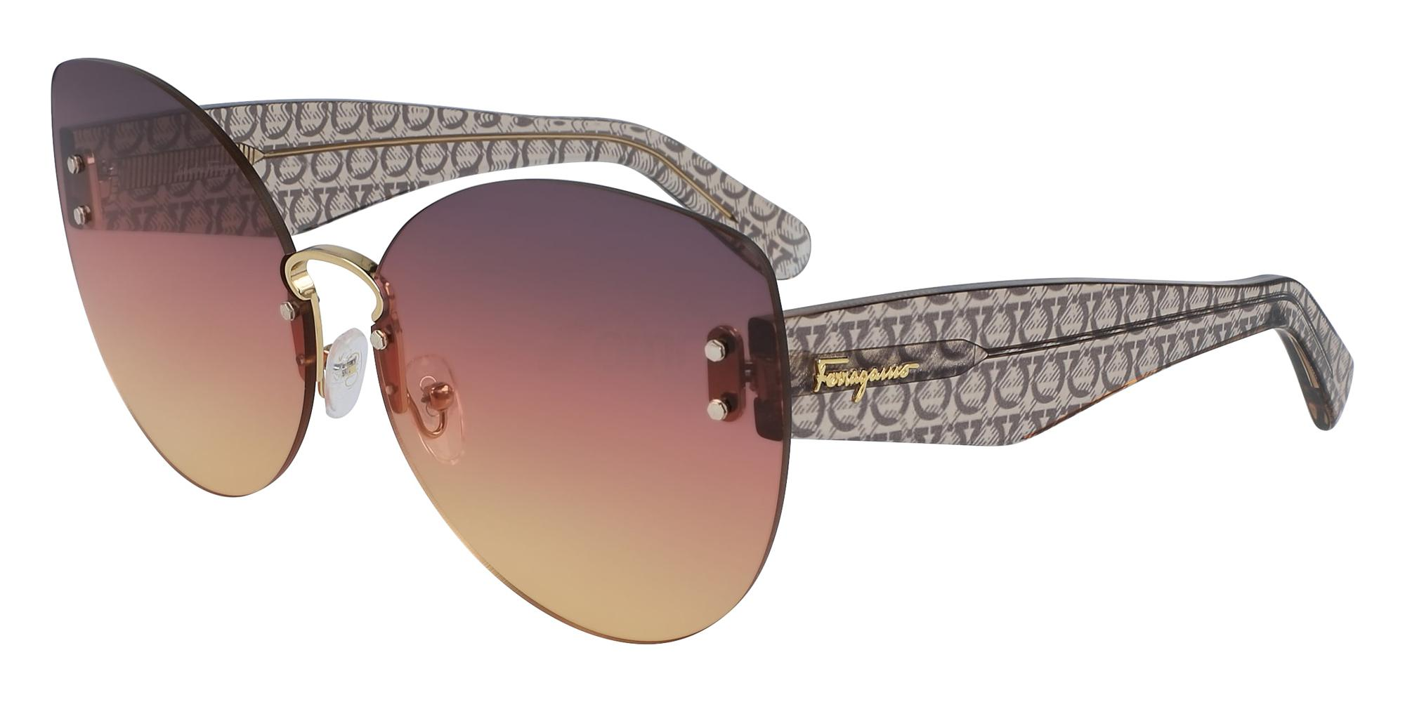 700 SF208S Sunglasses, Salvatore Ferragamo