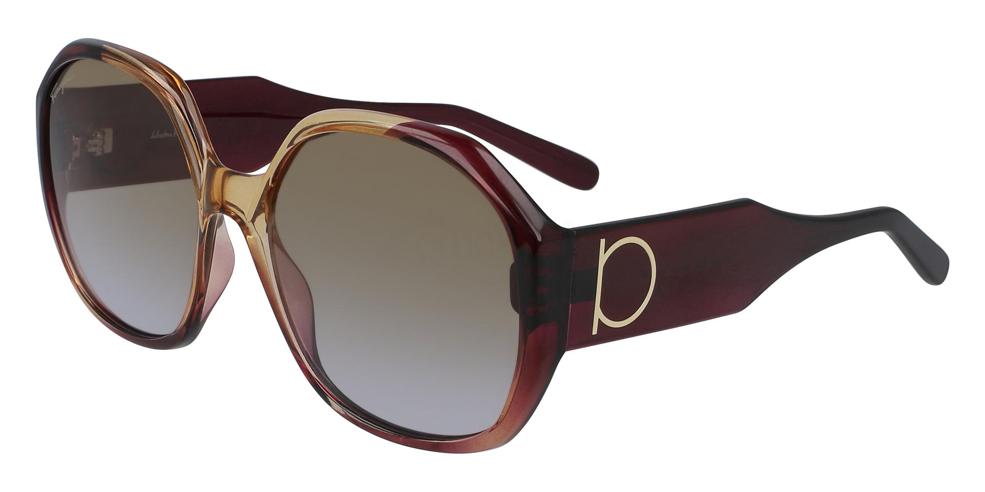 212 SF943S Sunglasses, Salvatore Ferragamo