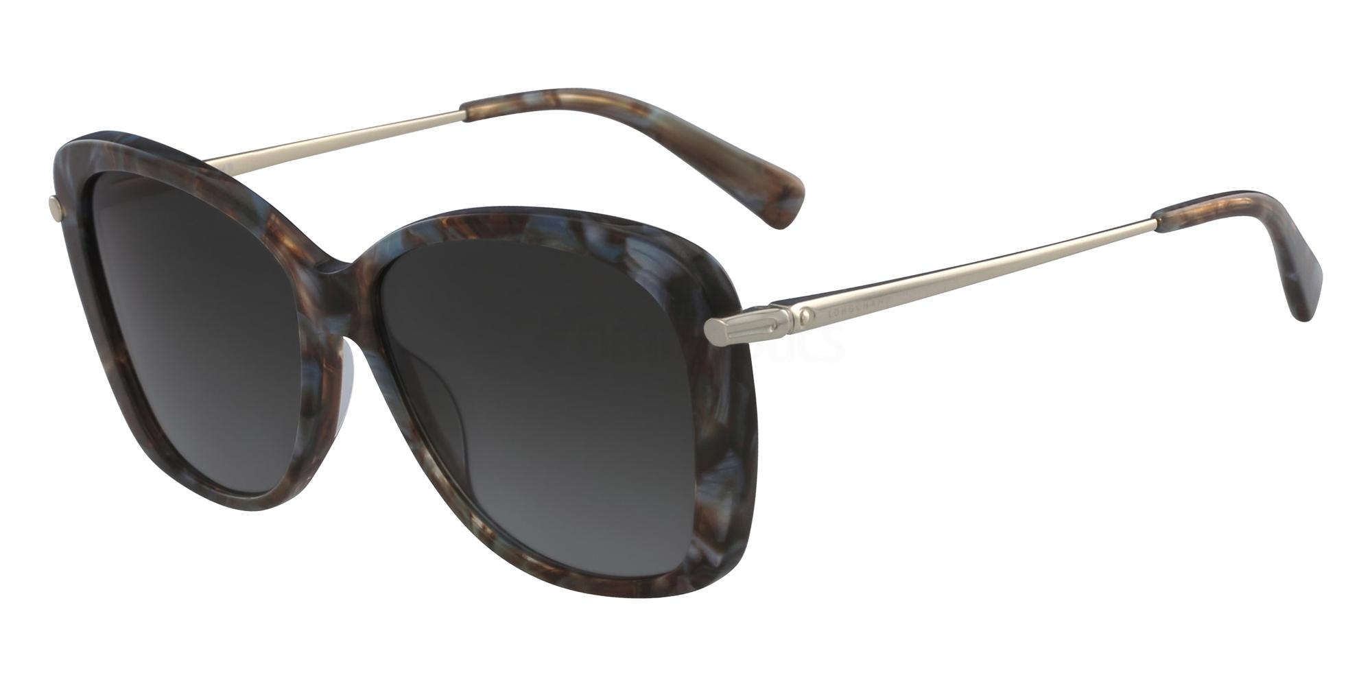 004 LO616S Sunglasses, LONGCHAMP