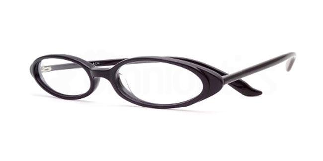 Black 819 Glasses, Booth & Bruce Design