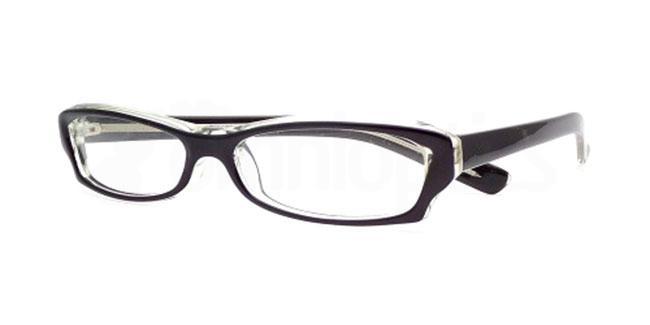 Black Crystal 833 Glasses, Booth & Bruce Design