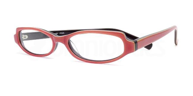 Baby Pink 856 Glasses, Booth & Bruce Design