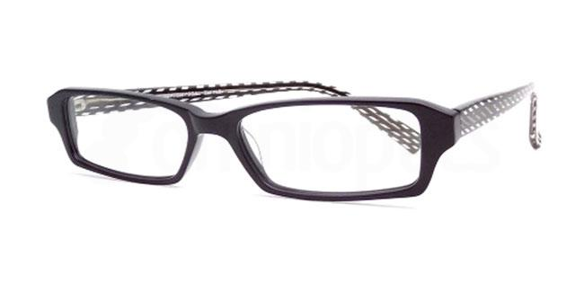 Black Crystal Twine 868 Glasses, Booth & Bruce Design