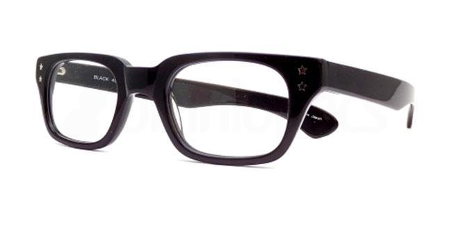 Black po41 Glasses, Booth & Bruce Design