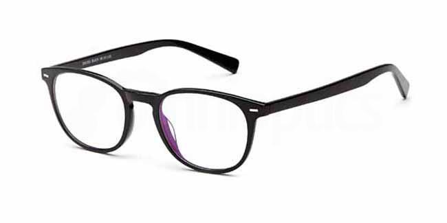 Black SAK 365 Glasses, Sakuru