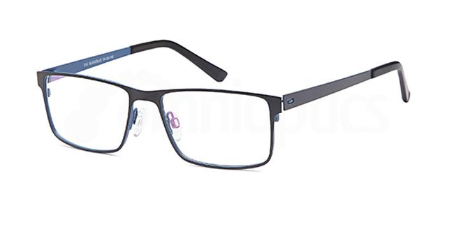 Black/Blue D 51 Glasses, Brooklyn