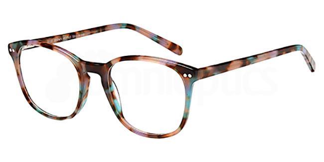 Brown Mottle D110 Glasses, Brooklyn