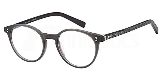 Grey D114 Glasses, Brooklyn