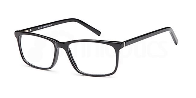Black DEL106 Glasses, Delancy