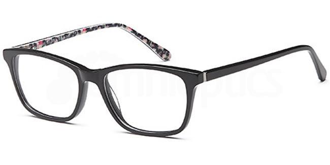Black DEL112 Glasses, Delancy