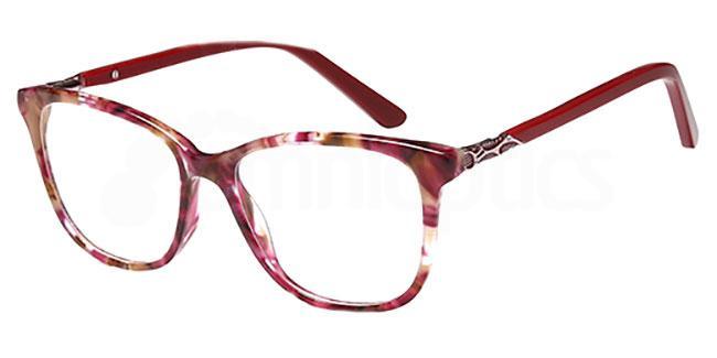 Pink Demi DEL 145 Glasses, Delancy