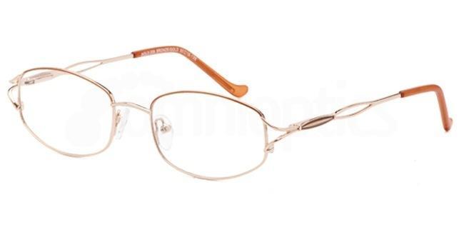 Bronze/Gold SIG 009 Glasses, Sigma