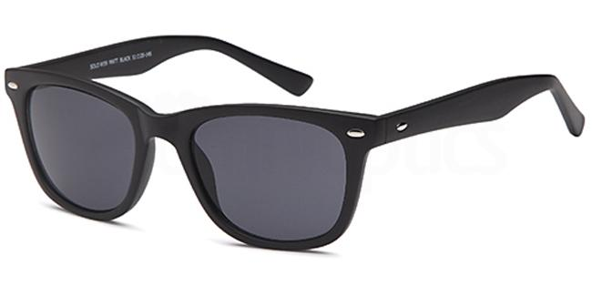 Matt Black W39 Sunglasses, Solo Collection
