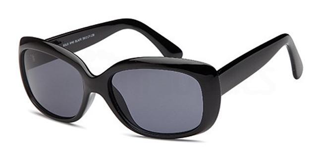 Black W40 Sunglasses, Solo Collection