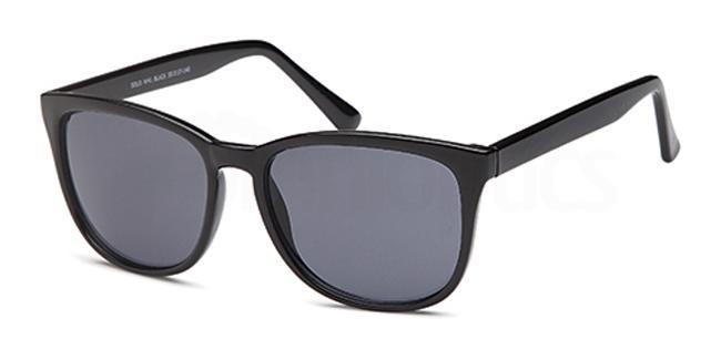 Black W41 Sunglasses, Solo Collection