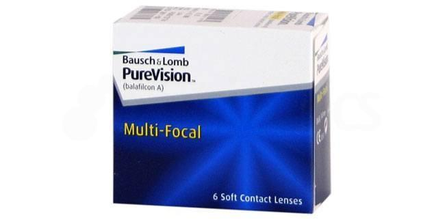 3 Lenses Pure Vision Multifocal Lenses, Bausch & Lomb