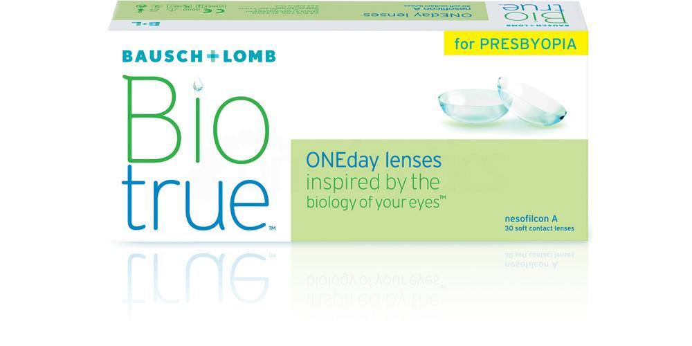 30 Lenses BioTrue ONE Day for Presbyopia Lenses, Bausch & Lomb