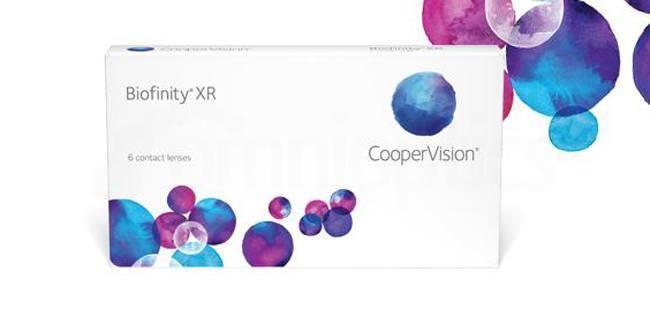 3 Lenses Biofinity XR Lenses, CooperVision