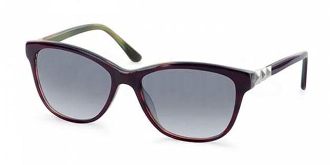 C1 9237 Sunglasses, Ocean Blue