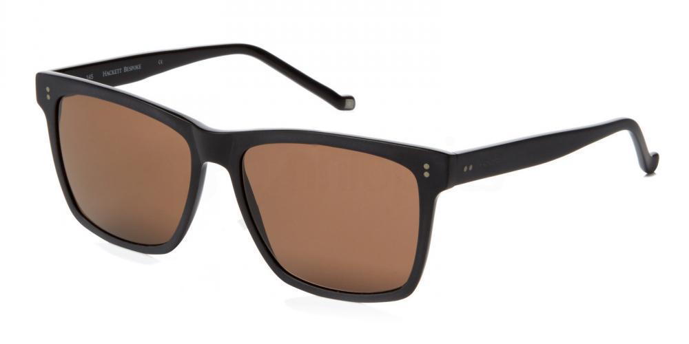 Black HSB852 Sunglasses, Hackett London Bespoke