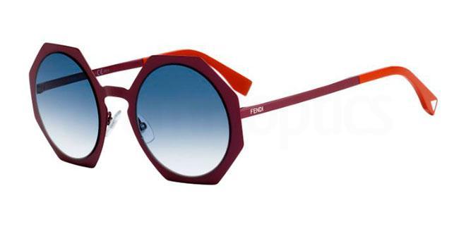 0M8  (U3) FF 0152/S Sunglasses, Fendi