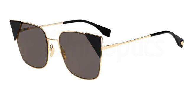 000  (2M) FF 0191/S Sunglasses, Fendi
