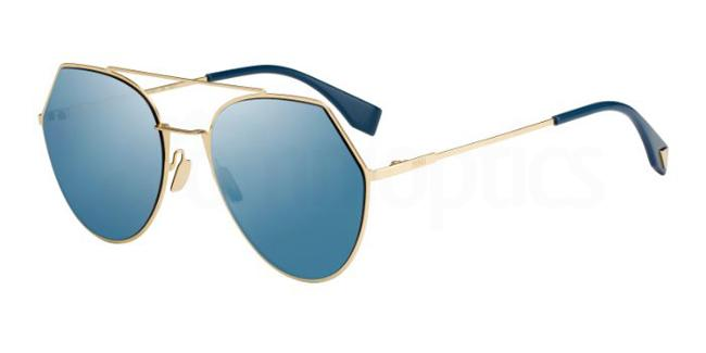 000  (2A) FF 0194/S Sunglasses, Fendi