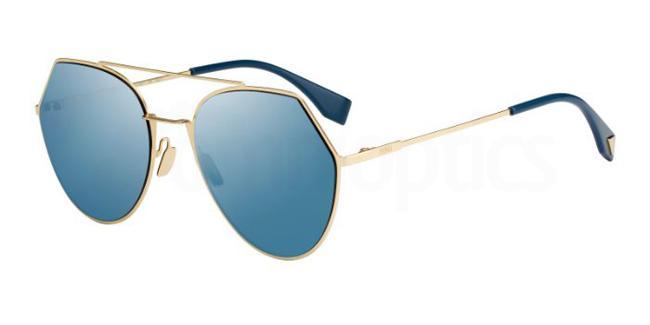 000  (2A) FF 0194/S Sunglasses, Fendi