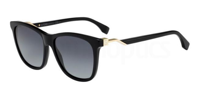 807  (HD) FF 0199/S Sunglasses, Fendi