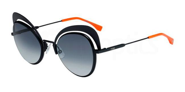 807  (9O) FF 0247/S Sunglasses, Fendi